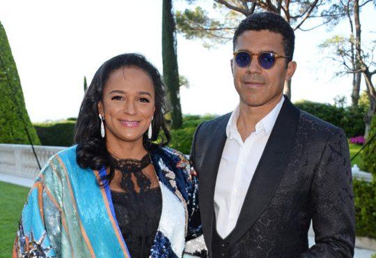 Isabel dos Santos et Sindika Dokolo